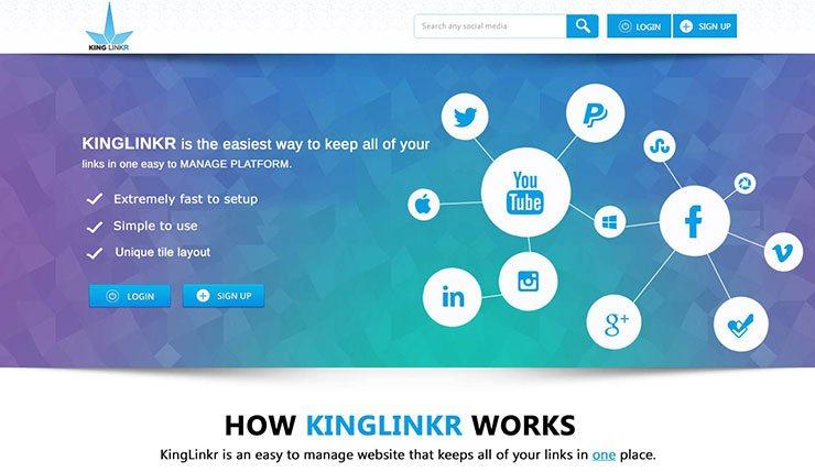 Kinglinker design
