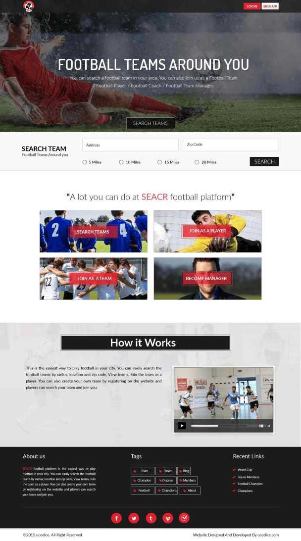 SEACR design