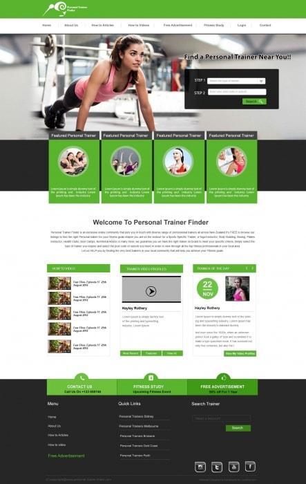 GYM Trainer Portal